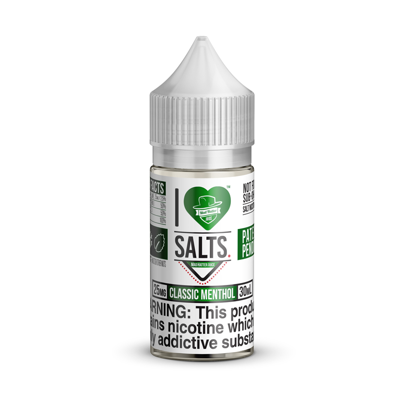 Buy I Love Salts Classic Menthol - Free Shipping – Mad Hatter Juice