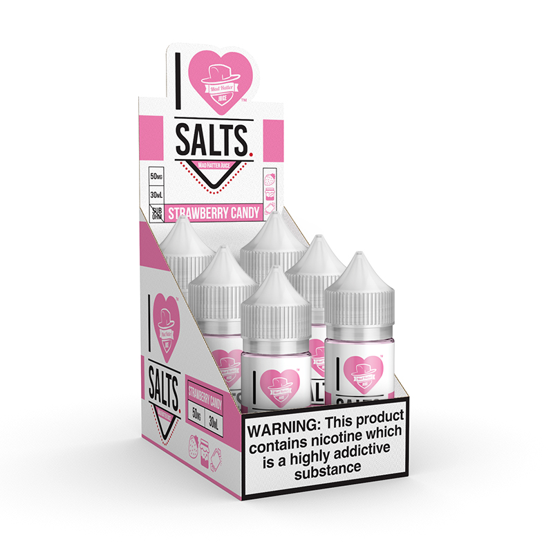 I Love Salts Strawberry Candy Refill