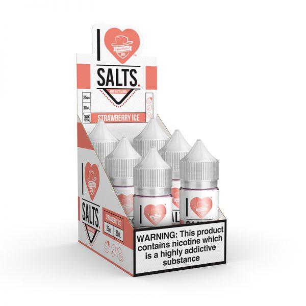 I Love Salts Strawberry Ice Refill