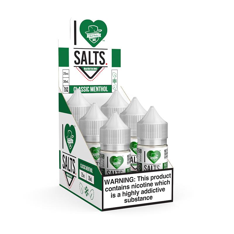I Love Salts Classic Menthol Refill